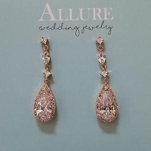 Allure Wedding jewelry teardrop earring
